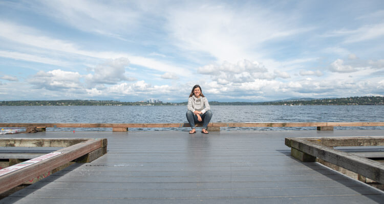 digital marketing consultant carrie hawthorne in seattle at lake washington