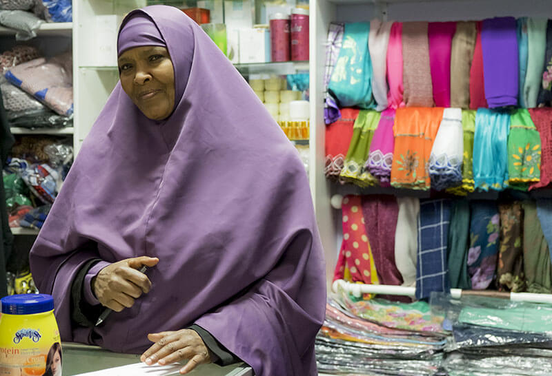 woman in small business in seattle