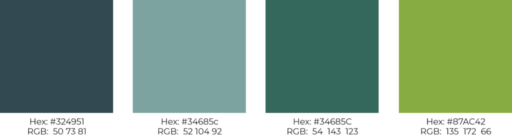 color palette for nonprofit