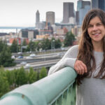 carrie hawthorne marketing consultant with seattle in background